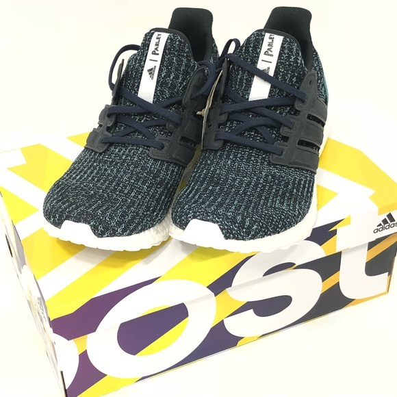 ce206a9570693e Adidas Mens Ultraboost Parley Shoes Size 10